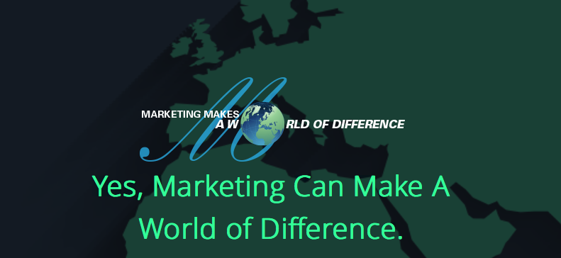 Marketing Makes A World of Difference