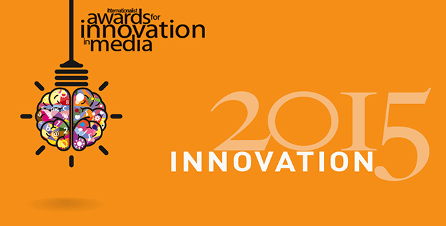 ENTER THE MEDIA INNOVATION AWARDS for 2015